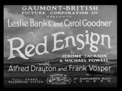 Red Ensign 1934 title