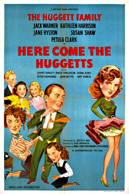 Here Come The Huggetts 1948 poster