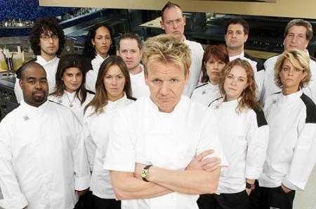 Hells kitchen season 2 cast