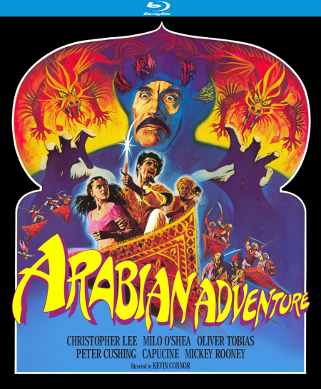 Arabian Adventure 1979 Blu-ray comm
