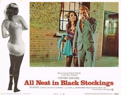All neat in black stockings 1969 e