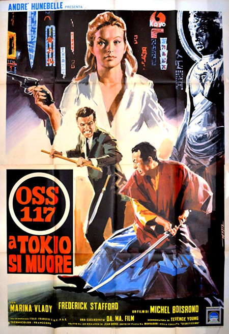OSS 117 Mission To Tokyo 1966