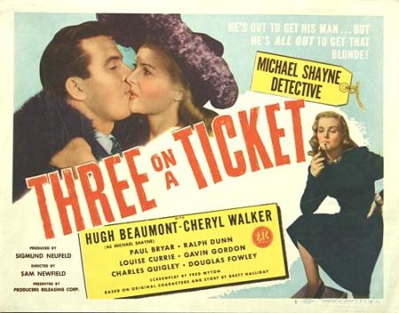 Three on a Ticket 1947 a