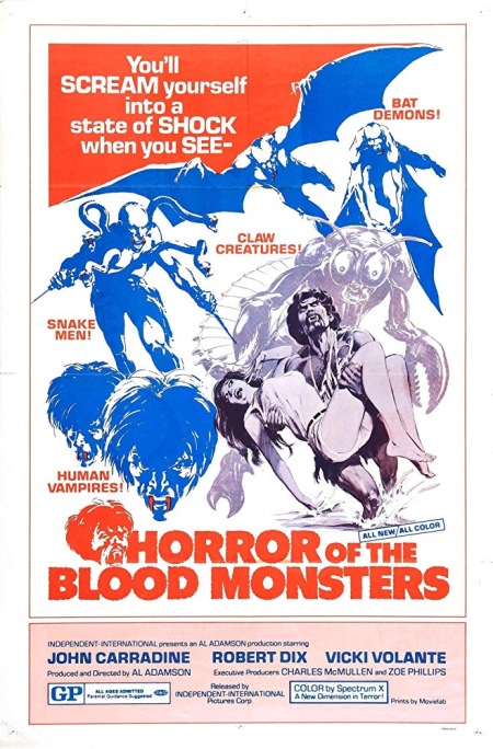 Horror Of The Blood Monsters 1970