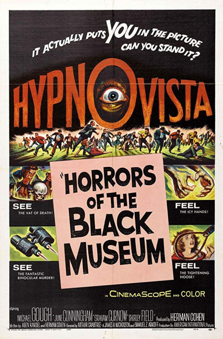Horrors Of The Black Museum 1959 a
