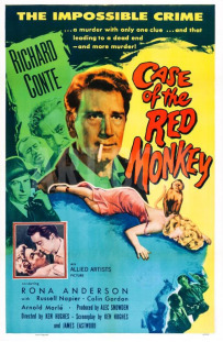 Little red monkey 1955 case poster