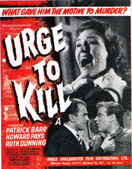 Urge to Kill 1960 a