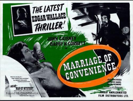 Marriage Of Convenience 1960