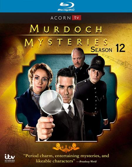 Murdoch mysteries s12 blu-ray