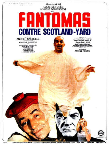 Fantomas vs scotland yard 1967 f
