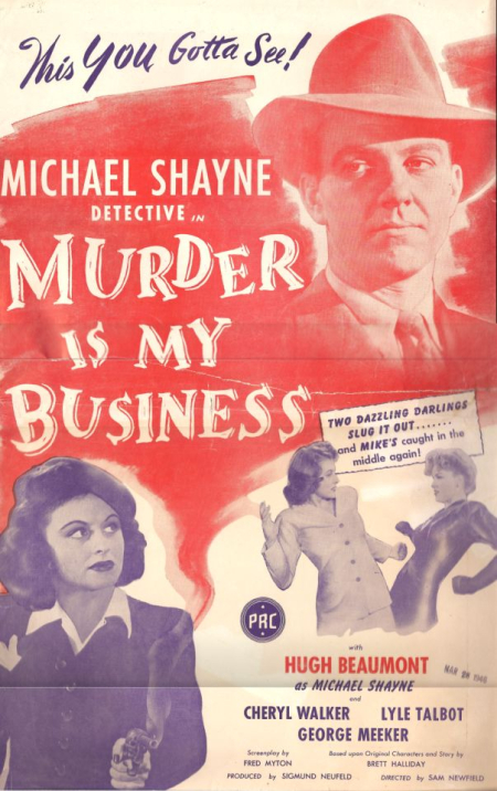 Murder Is My Business 1946 c