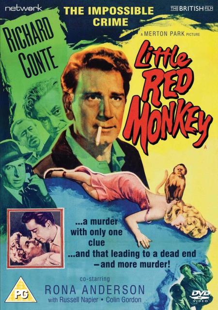 Little red monkey 1955 dvd