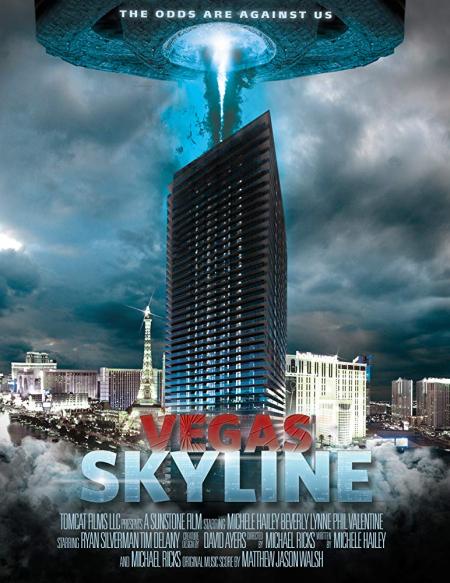 Vegas skyline 2012