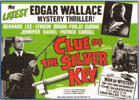 Clue of the silver key 1961