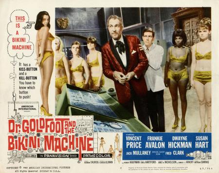 Dr Goldfoot And The Bikini Machine 1965 e