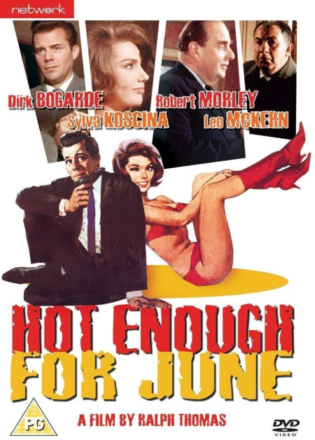Hot Enough For June 1964 dvd