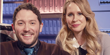 Jon richardson ultimate worrier  Lucy Beaumont