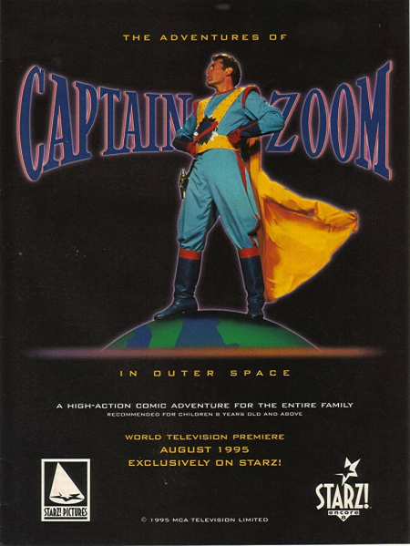 The adv of captain zoom in outer space 1995