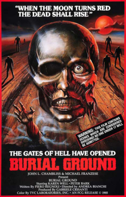 Burial ground the nights of terror 1981