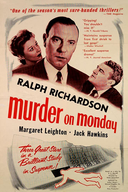 Home at seven 1952 murder at monday