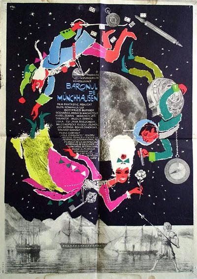 The Fabulous Baron Munchausen 1962 d
