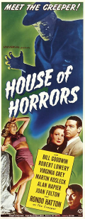 HOUSE OF HORRORS 1946 d