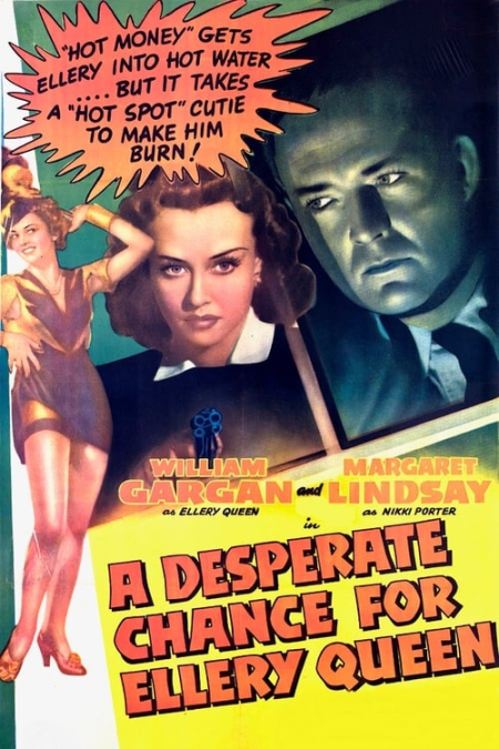 A Desperate Chance For Ellery Queen 1942 c