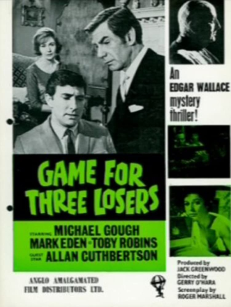 Game for three losers 1965