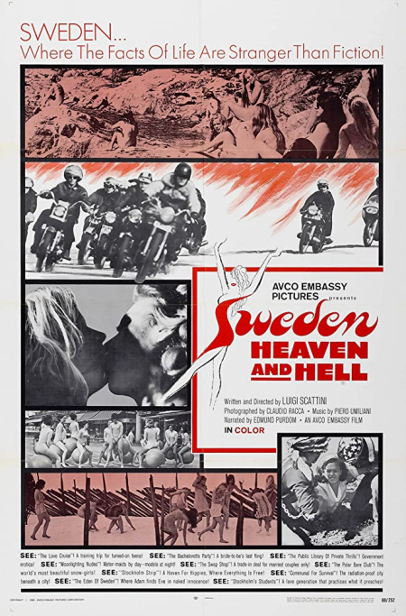 Sweden Heaven And Hell 1968 c