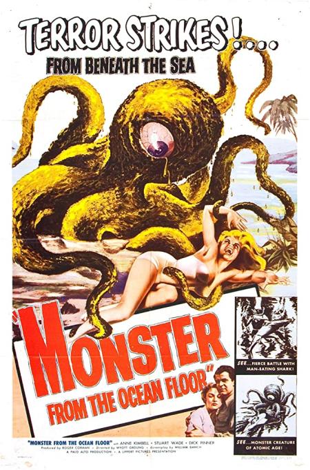 Monster From The Ocean Floor 1954