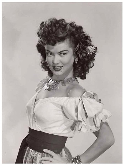 Fortunes Of Captain Blood 1950 dona drake