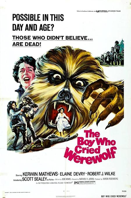 The boy who cried werewolf 1973