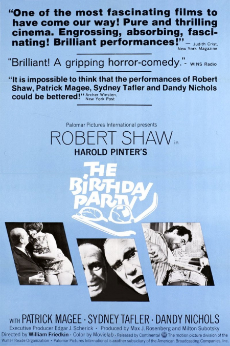 The Birthday Party 1968