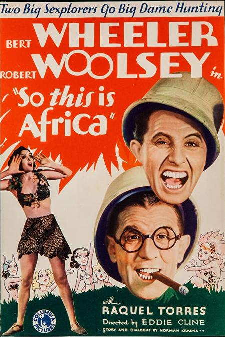 So This Is Africa 1933