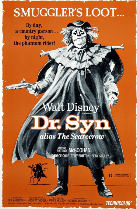 Dr syn scarecrow romeny marsh british poster