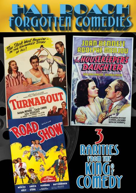 Hal roach forgotten comedies DVD