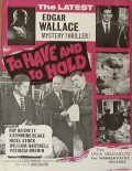 To Have And To Hold 1963 a