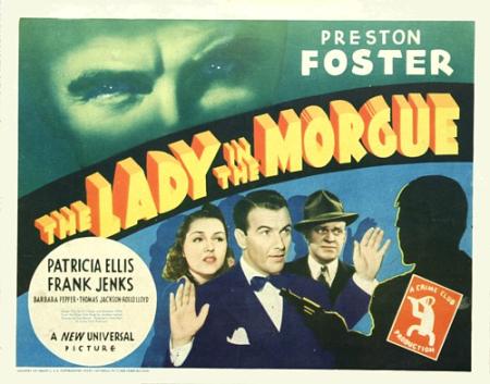 The Lady In The Morgue 1938 e