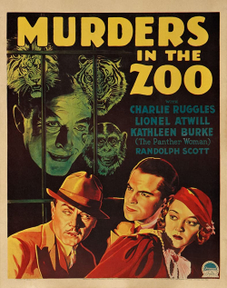 Murders in the zoo 1933 h