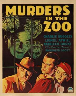 Murders in the zoo 1933 h