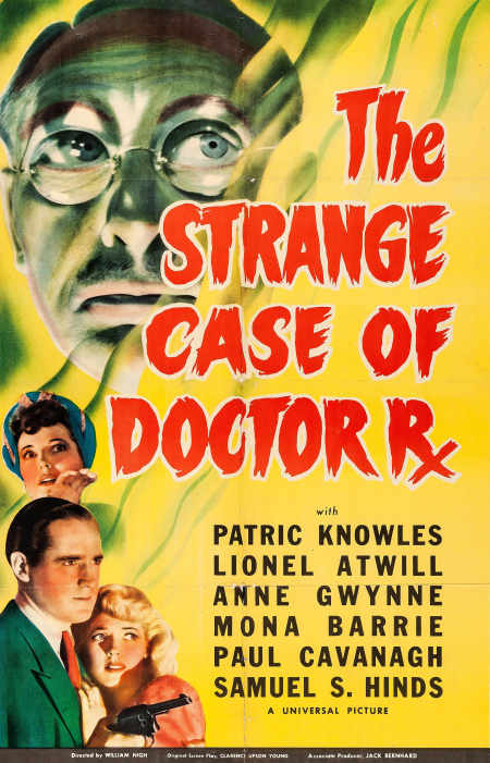 The Strange Case Of Doctor Rx 1942 a