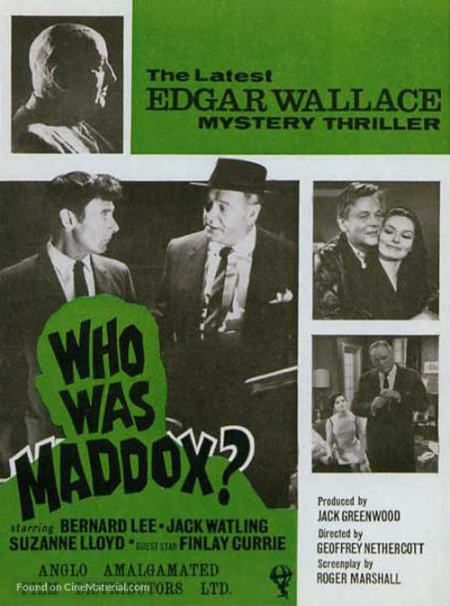 Who Was Maddox 1964  a a
