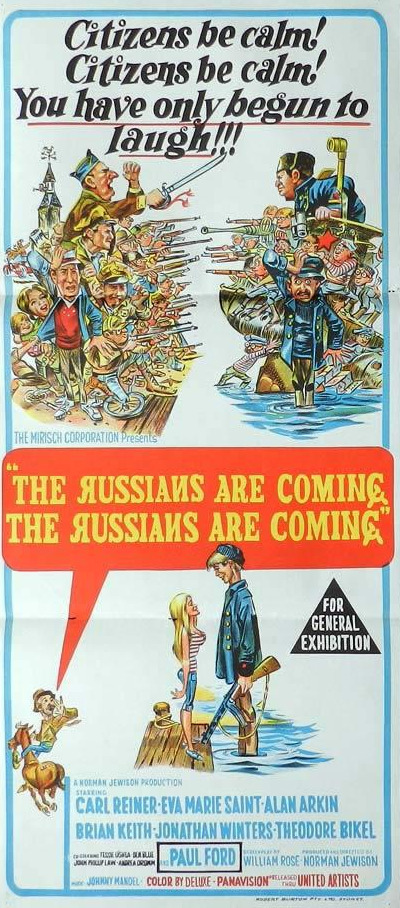 The russians are coming etc 1966 d