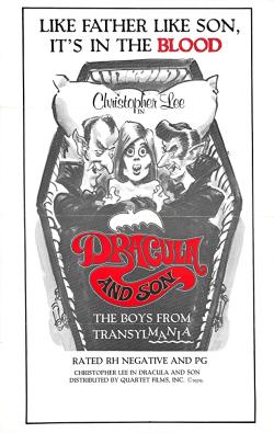 Dracula And Son 1976 e