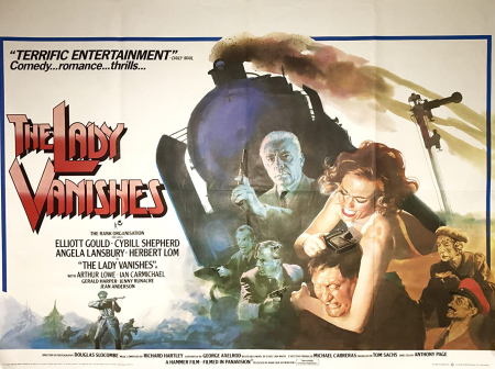 The Lady Vanishes 1979 poster