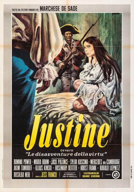Marquis De Sade's Justine 1968