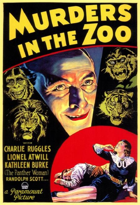 Murders in the zoo 1933 a