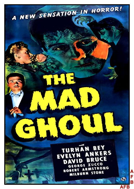 The Mad Ghoul 1943 c