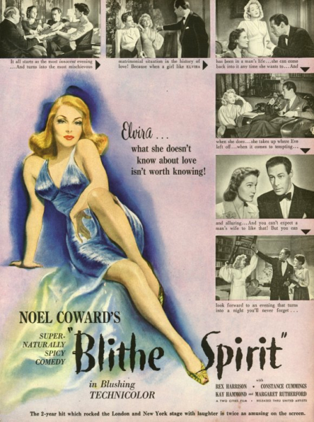 Blithe Spirit 1945 d