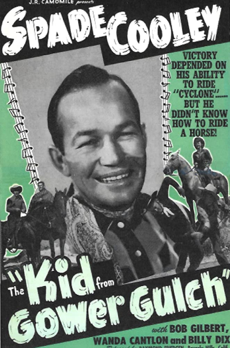 The Kid From Gower Gulch 1950
